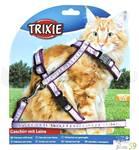 Комплект для кошек нейлон поводок и шлейка