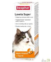 Beaphar капли для кошек Laveta super для шерсти 50мл