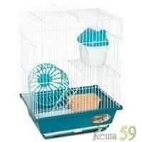 Клетка для грызунов 2-этажная 30x23x29см