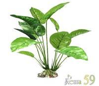 Искусственное растение Анубиас 20см