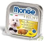 Monge Dog Fresh консервы для собак курица 100г