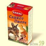SANAL Drops для грызунов Морковные