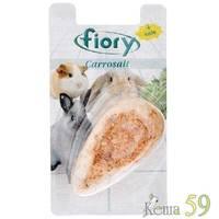 FIORY био-камень для грызунов Carrosalt с солью в форме моркови 65 г