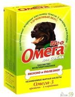 Омега Neo витамины для собак с протеином и L-карнитином 90 таб.
