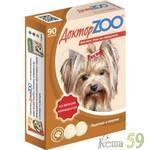 Доктор ZOO витамины для собак с копченостями 90 таб.