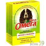 Омега Neo витамины для собак с морскими водорослями 90 таб.