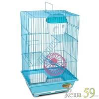 Клетка для грызунов 3-этажная 30x23x47 см