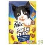 Felix Party Mix Лакомство для кошек Сырный микс 20г