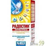 Радостин Витаминный препарат для птиц Антистресс 20мл