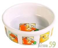 Trixie Миска керамическая для грызунов 300мл d11,5см