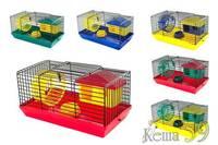 Клетка для грызунов 27x15x13 см