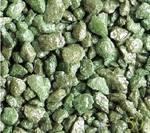 Аквагрунт цветной перламутровый зелёный 3-5мм 2кг