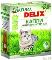 Деликс Био капли для кошек 1 пипетка
