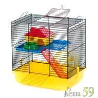 Клетка TEDDY I +PL для грызунов 37x25x38.5 см