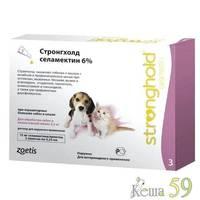Стронгхолд капли для котят и щенков инсекто-акарицидные, 1 пипетка