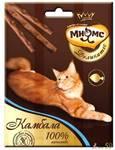 Мнямс Деликатес лакомые палочки для кошек с камбалой 3x4гр