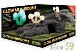 Exo Terra Декор для террариума коряга со светящимися грибами