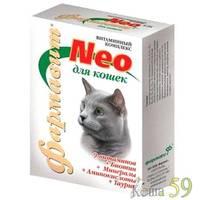 NEO Фармавит витамины для кошек 60таб