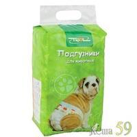 Подгузники Triol для собак 4-7 кг
