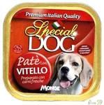 Special Dog паштет для собак с телятиной 150гр