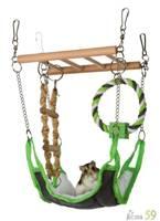 Trixie Подвесной мост с гамаком для грызунов 17x15x22см