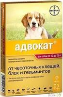 Bayer Адвокат для собак 10-25 кг 1 пипетка х 2,5 мл