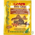 SERA Wels chips Корм для донных рыб в виде чипсов 15гр