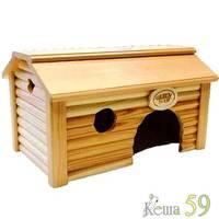 Дом Баня для морских свинок деревянный