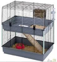 Клетка для морских свинок Cavie 80 двухэтажная