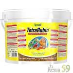 Tetra Rubin корм для улучшения окраса рыб в виде хлопьев 10л