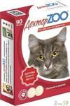 Доктор ZOO витамины для кошек с биотином и таурином 90т
