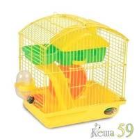 Клетка для грызунов 22,5x17x25см