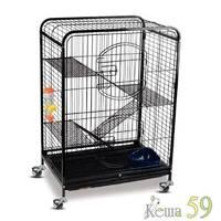 Клетка для грызунов 64x43,5x92,5см