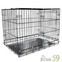 Клетка для животных №005 эмаль 107x71x80см