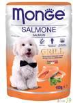 Monge Dog Grill Pouch паучи для собак лосось 100г