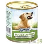 Happy Dog 750гр Вкусная баранина/рис