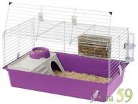 Клетка CAVIE 80 Decor для кроликов и морских свинок (77x48x42 cм)
