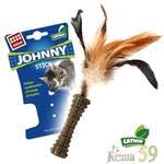 GIGwi Игрушка для кошек Прессованная кошачья мята с пером