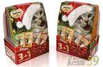 Мнямс Новогодний набор для кошек 3+1 (пауч)