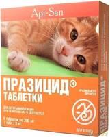 Празицид для кошек противоглистное 1таб.