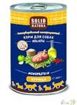 Solid Natura Holistic консервы для собак со вкусом курицы 340 гр