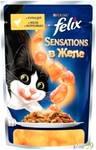 Felix Sensations для кошек курица с морковью в желе 85гр