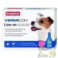 Beaphar Вермикон капли на холку для собак мелких пород 1 пипетка