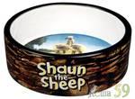 Trixie миска Shaun the Sheep коричневая 300мл