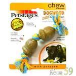Petstages игрушка для собак Dogwood Желудь 15см