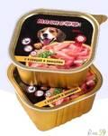 Мяснофф консервы для собак курица с овощами 100гр