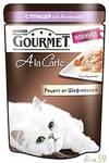 Гурмет Ala Carte пауч для кошек Птица с овощами 85 гр