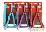 Collar&Lead Шлейка с поводком нейлон 10ммx122см+30/40см