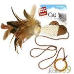 GIGwi Игрушка для кошек Рыбка с кольцом