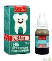 Зубастик стоматологический гель для животных 15мл